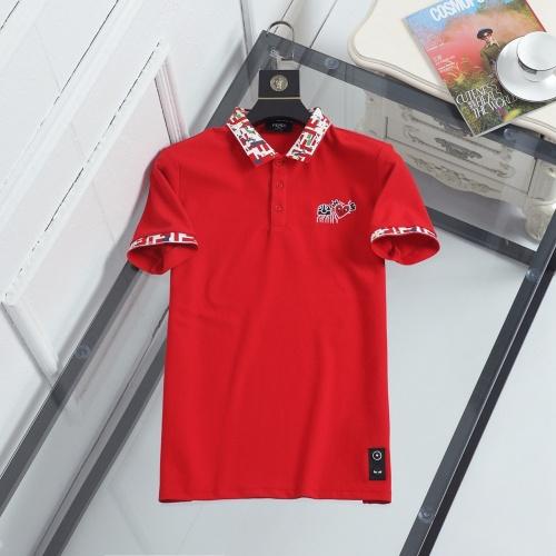 Fendi T-Shirts Short Sleeved For Men #846865