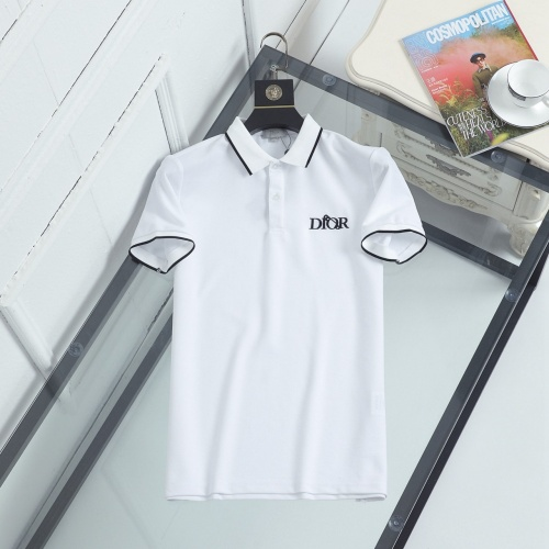 Christian Dior T-Shirts Short Sleeved For Men #846869