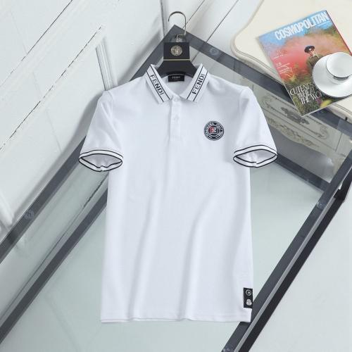 Fendi T-Shirts Short Sleeved For Men #846878