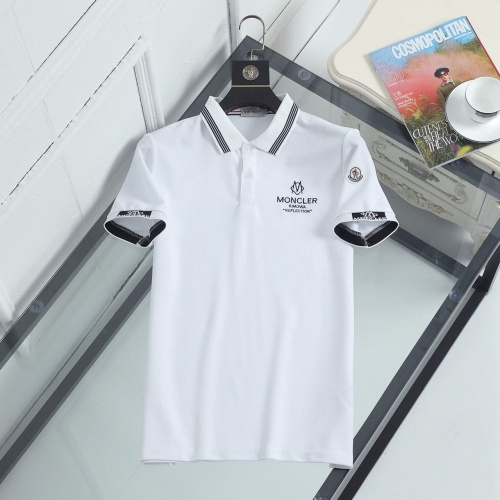 Moncler T-Shirts Short Sleeved For Men #846895