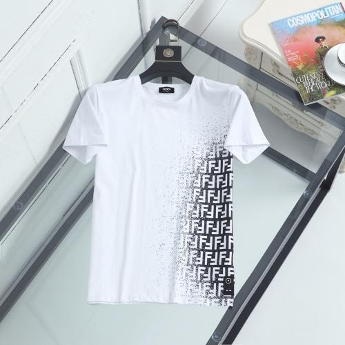 Fendi T-Shirts Short Sleeved For Men #846941