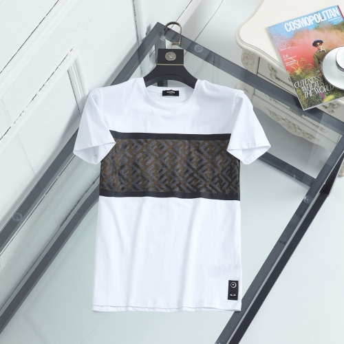 Fendi T-Shirts Short Sleeved For Men #846944