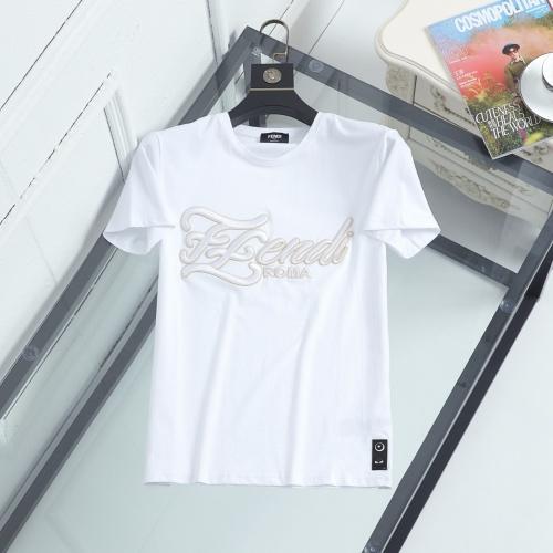 Fendi T-Shirts Short Sleeved For Men #846948