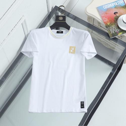 Fendi T-Shirts Short Sleeved For Men #846950
