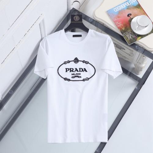 Prada T-Shirts Short Sleeved For Men #846988 $39.00 USD, Wholesale Replica Prada T-Shirts