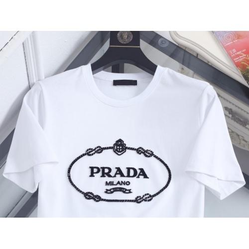 Replica Prada T-Shirts Short Sleeved For Men #846988 $39.00 USD for Wholesale