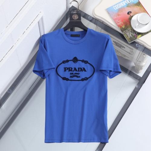 Prada T-Shirts Short Sleeved For Men #846989 $39.00 USD, Wholesale Replica Prada T-Shirts