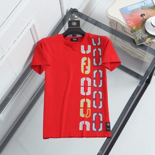 Fendi T-Shirts Short Sleeved For Men #847017