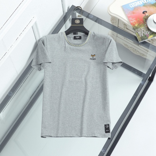 Fendi T-Shirts Short Sleeved For Men #847018