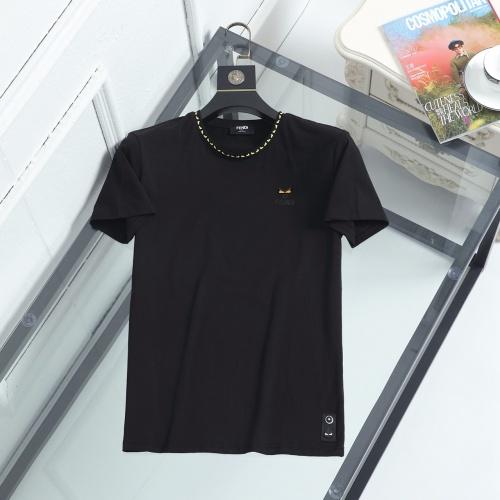 Fendi T-Shirts Short Sleeved For Men #847019