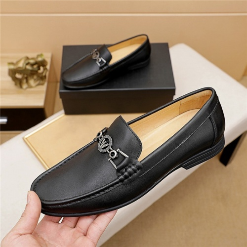Armani Leather Shoes For Men #847027