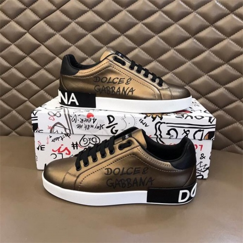 Dolce & Gabbana D&G Casual Shoes For Men #847046