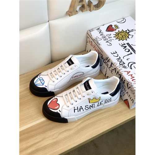 Dolce & Gabbana D&G Casual Shoes For Men #847053