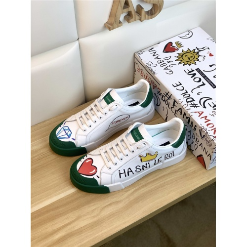 Dolce & Gabbana D&G Casual Shoes For Men #847056