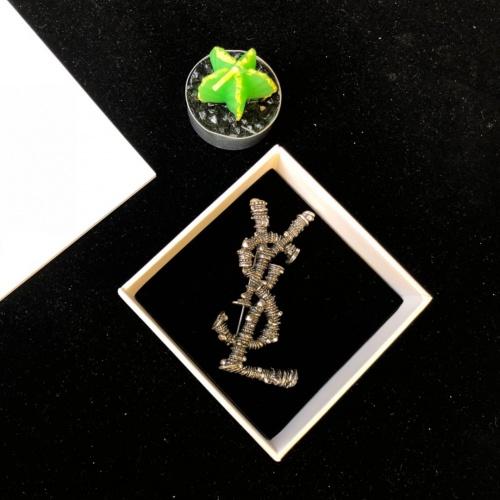 Yves Saint Laurent Brooches #847129 $34.00 USD, Wholesale Replica Yves Saint Laurent Brooches
