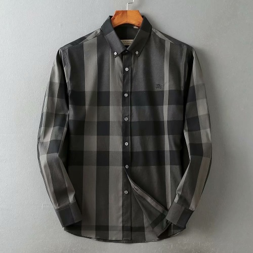 Burberry Shirts Long Sleeved For Men #847150 $38.00 USD, Wholesale Replica Burberry Shirts