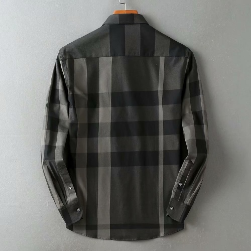 Replica Burberry Shirts Long Sleeved For Men #847150 $38.00 USD for Wholesale
