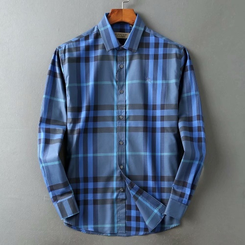 Burberry Shirts Long Sleeved For Men #847152 $38.00 USD, Wholesale Replica Burberry Shirts
