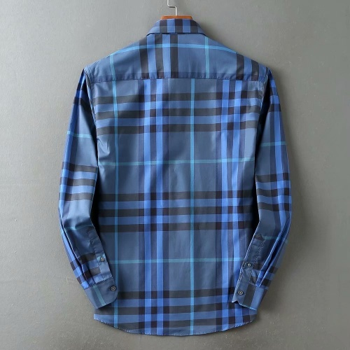 Replica Burberry Shirts Long Sleeved For Men #847152 $38.00 USD for Wholesale