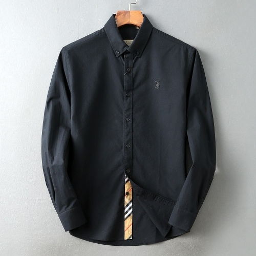 Burberry Shirts Long Sleeved For Men #847161 $39.00 USD, Wholesale Replica Burberry Shirts