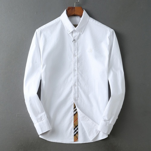 Burberry Shirts Long Sleeved For Men #847162 $39.00 USD, Wholesale Replica Burberry Shirts
