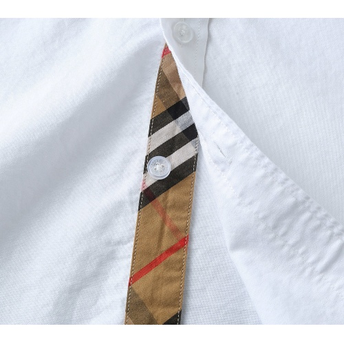 Replica Burberry Shirts Long Sleeved For Men #847162 $39.00 USD for Wholesale