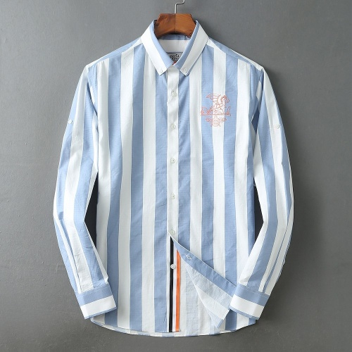 Hermes Shirts Long Sleeved For Men #847166