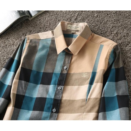 Replica Burberry Shirts Long Sleeved For Women #847169 $38.00 USD for Wholesale