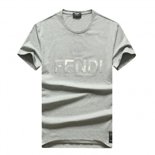 Fendi T-Shirts Short Sleeved For Men #847248