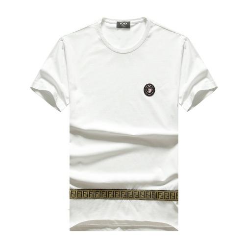 Fendi T-Shirts Short Sleeved For Men #847254