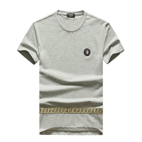 Fendi T-Shirts Short Sleeved For Men #847255