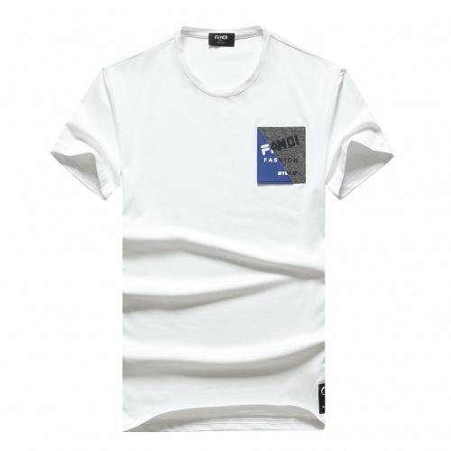 Fendi T-Shirts Short Sleeved For Men #847292