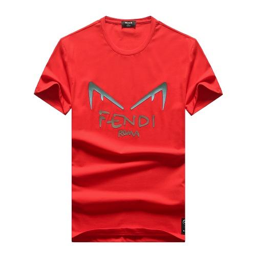 Fendi T-Shirts Short Sleeved For Men #847296