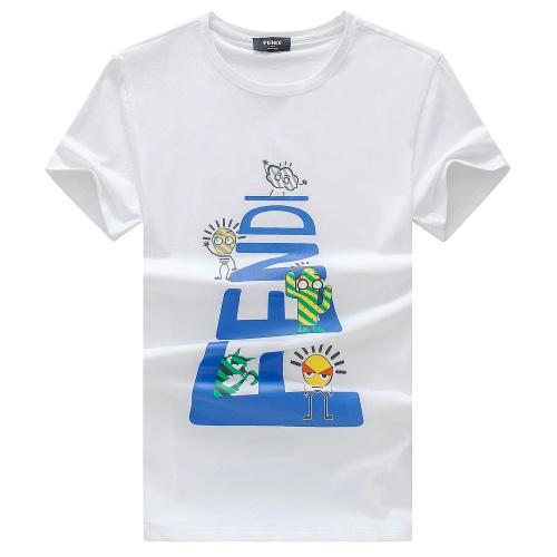 Fendi T-Shirts Short Sleeved For Men #847303