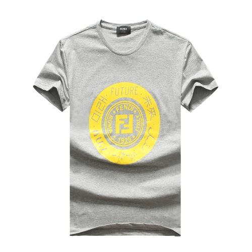 Fendi T-Shirts Short Sleeved For Men #847306