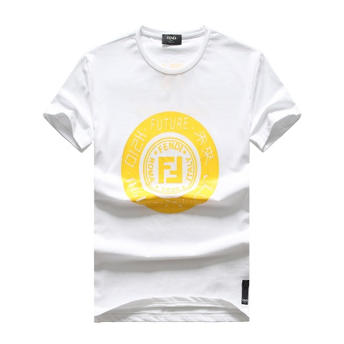 Fendi T-Shirts Short Sleeved For Men #847307