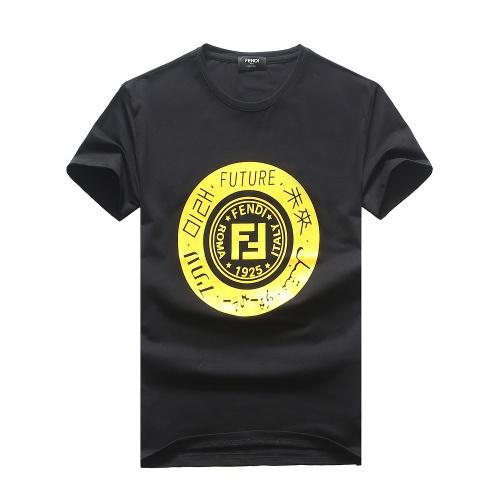 Fendi T-Shirts Short Sleeved For Men #847308
