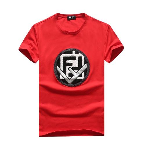Fendi T-Shirts Short Sleeved For Men #847309