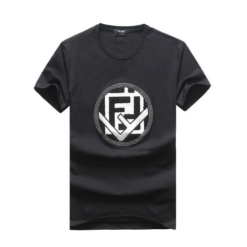 Fendi T-Shirts Short Sleeved For Men #847310