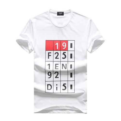 Fendi T-Shirts Short Sleeved For Men #847313