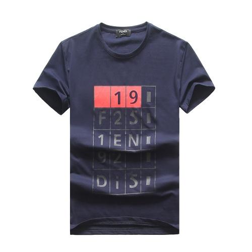 Fendi T-Shirts Short Sleeved For Men #847315