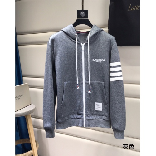 Thom Browne TB Hoodies Long Sleeved For Men #847373