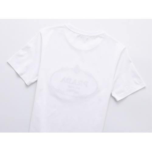Replica Prada T-Shirts Short Sleeved For Men #847463 $25.00 USD for Wholesale