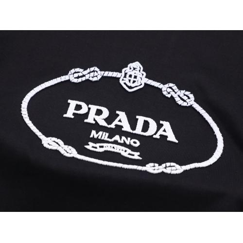 Replica Prada T-Shirts Short Sleeved For Men #847465 $25.00 USD for Wholesale