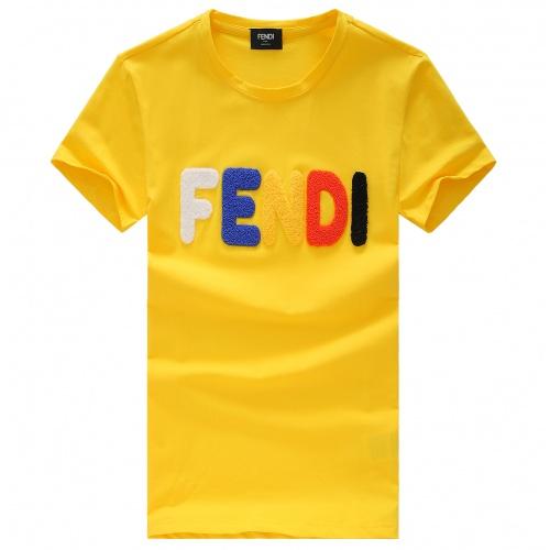 Fendi T-Shirts Short Sleeved For Men #847473
