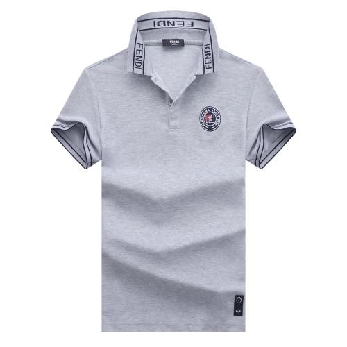 Fendi T-Shirts Short Sleeved For Men #847596