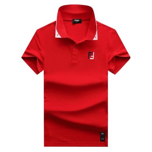 Fendi T-Shirts Short Sleeved For Men #847597