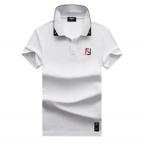 Fendi T-Shirts Short Sleeved For Men #847598