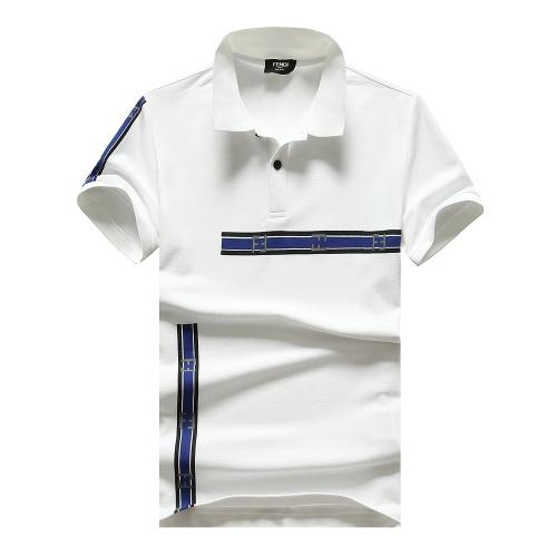 Fendi T-Shirts Short Sleeved For Men #847599