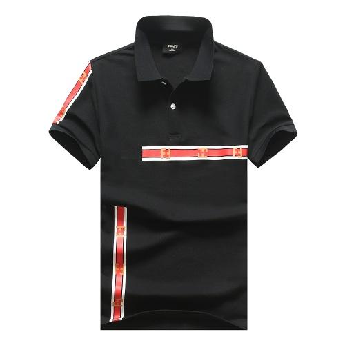 Fendi T-Shirts Short Sleeved For Men #847600